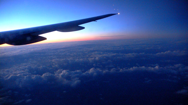 5am over the Atlantic